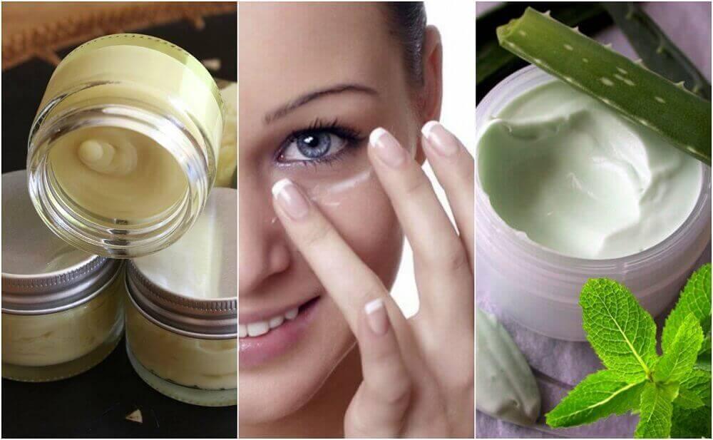 Натуральні креми для очей для здорової шкіри