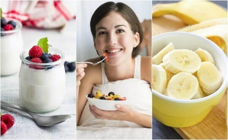 6 корисних перекусів, які можна їсти перед сном