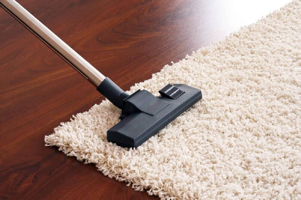 сода й оцет для чищення килимів