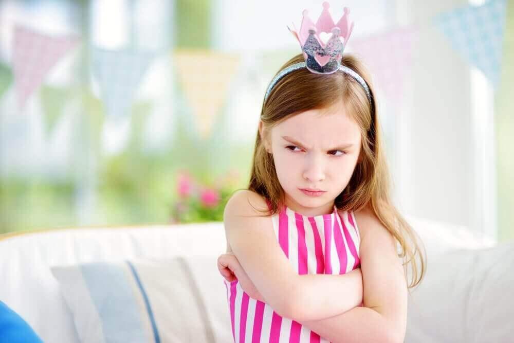 як визначити синдром розбещеної дитини