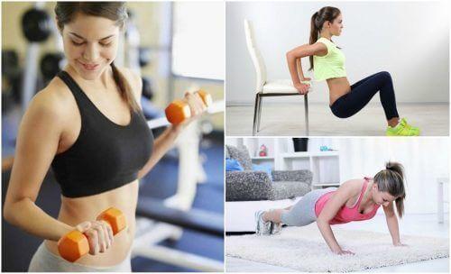 6 простих вправ для зміцнення млявих рук