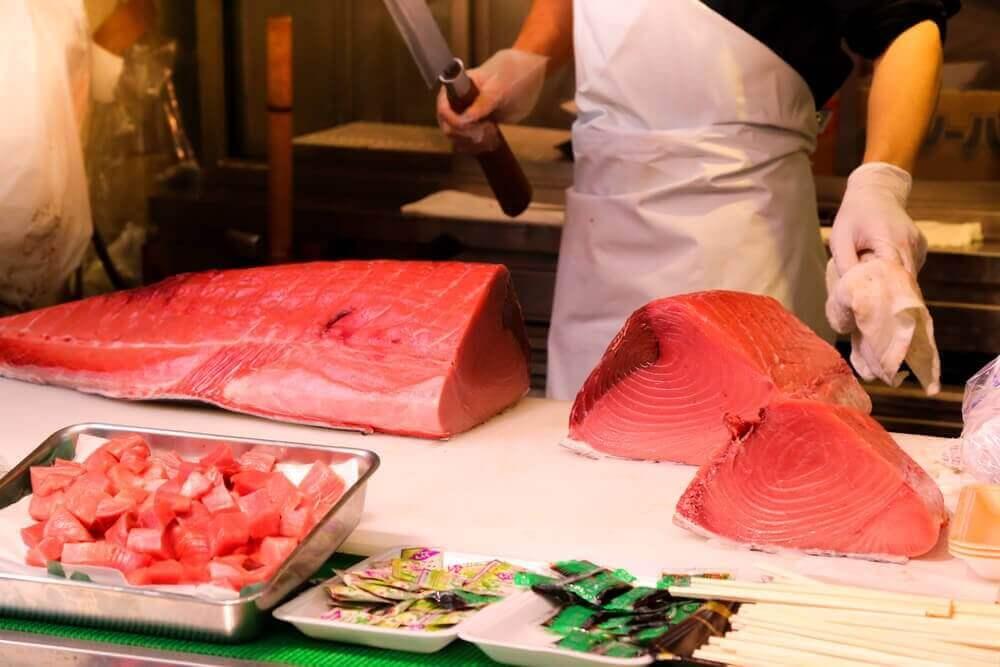 червоний тунець