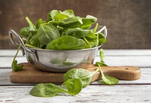 властивості шпинату