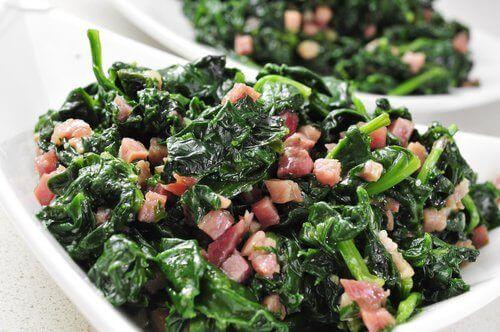 рецепт страви зі шпинатом