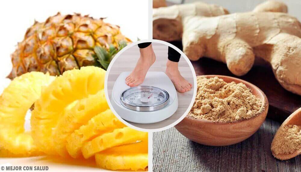 Смузі з ананасом та імбиром для схуднення