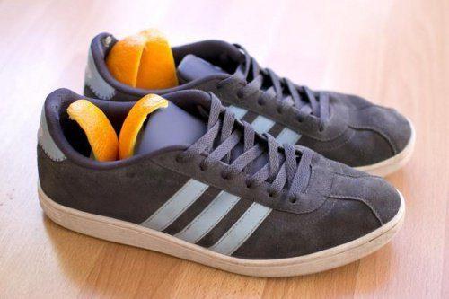 апельсинові шкірки для взуття