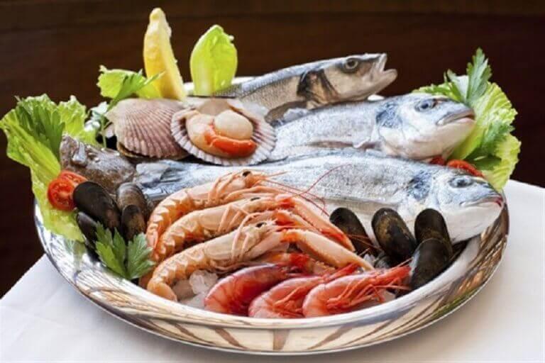 їжте продукти багаті на йод для покращення роботи щитоподібної залози