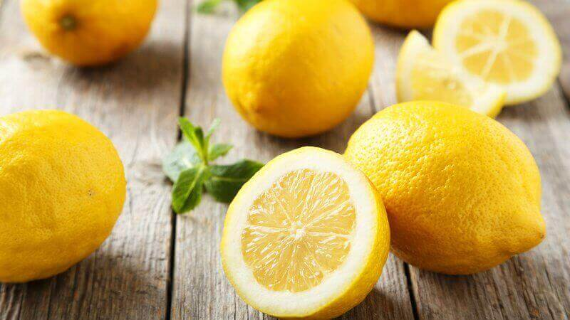 лимони для детоксикації організму