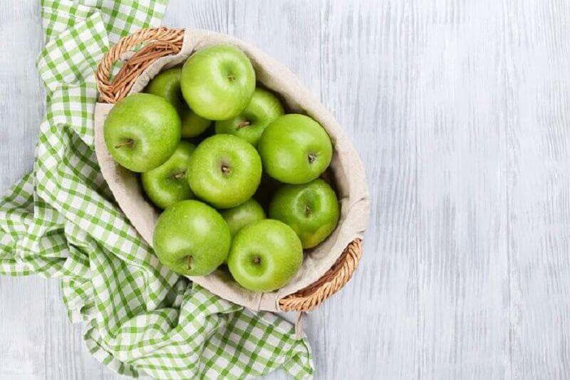 зелені яблука - природна детоксикація