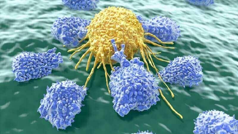 рак змінює колір калу