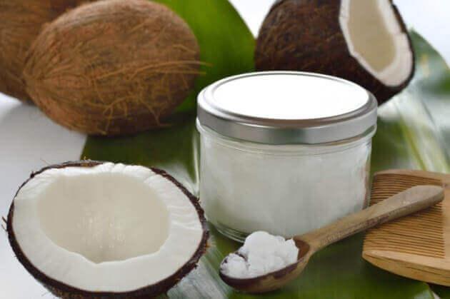 кокосова олія - дезодорант