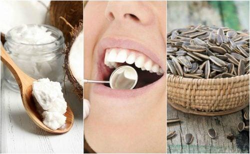 6 натуральних засобів проти зубного нальоту