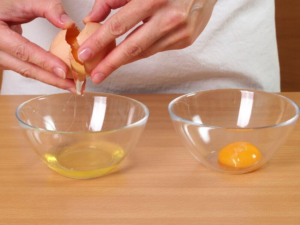 яйця для ефекту підтягування шкіри