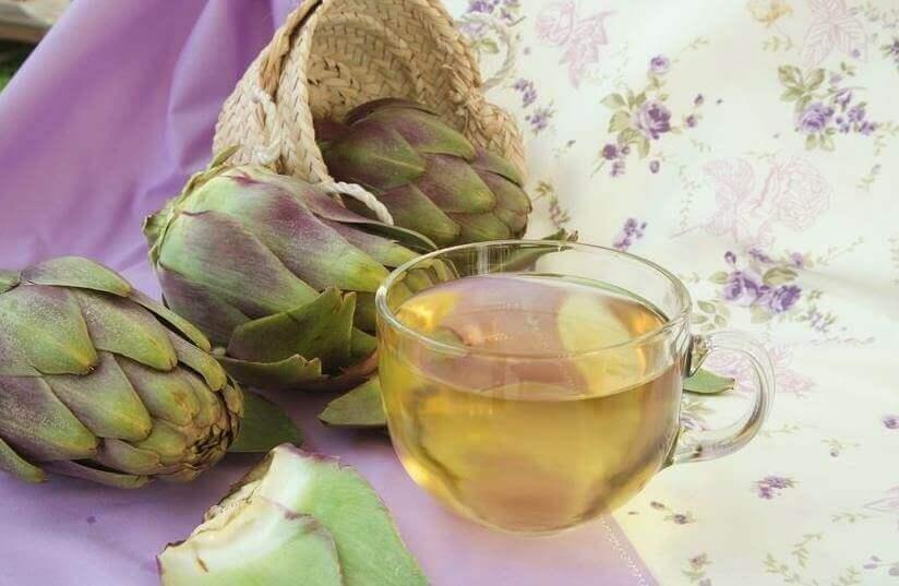чай з артишока для виведення сечової кислоти