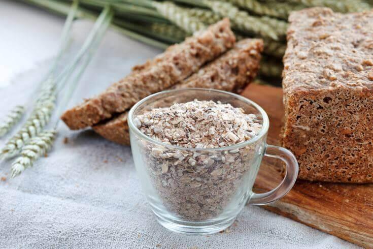 дієтичний хліб містить клітковину
