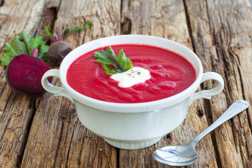 буряковий крем-суп від токсинів
