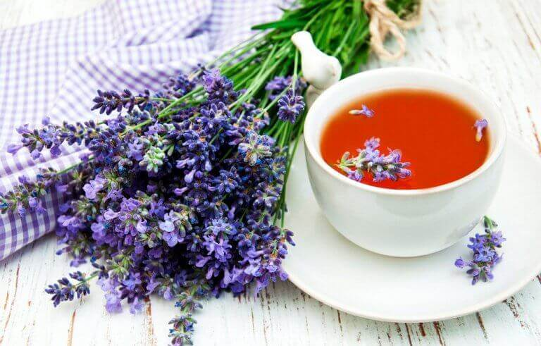 лавандовий чай від безсоння