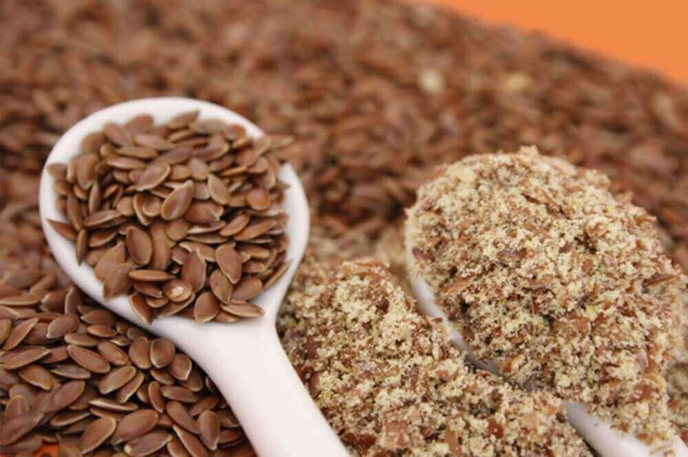 насіння льону для здорової шкіри