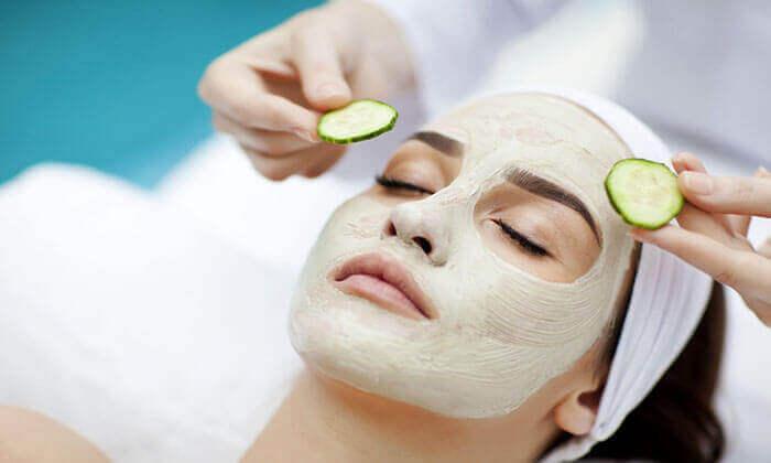 маска з огірком для здорової шкіри