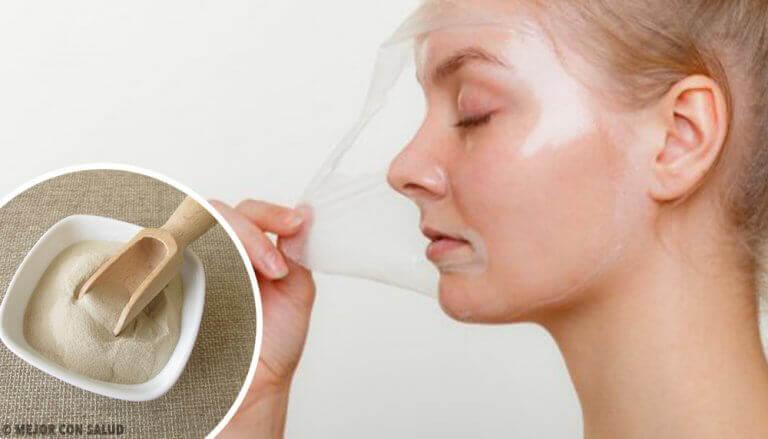 4 маски для омолодження шкіри на основі желатину
