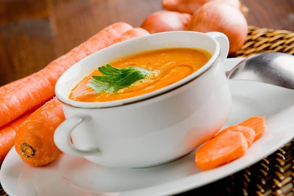 морква для детоксикації організму