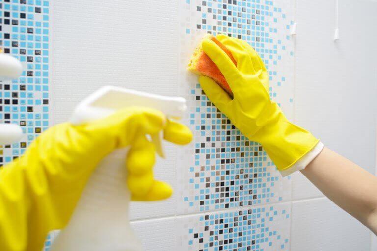 як правильно мити стіни для дезінфекції ванної кімнати