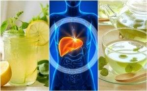 5 натуральних напоїв для очищення печінки