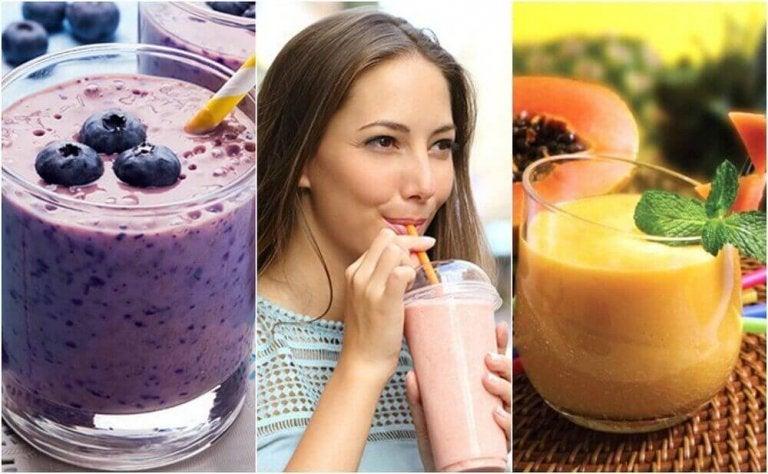 5 корисних смузі для сніданку