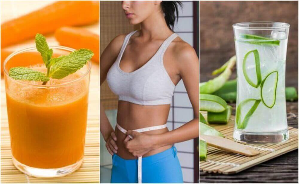 5 соків, які допоможуть зменшити живіт