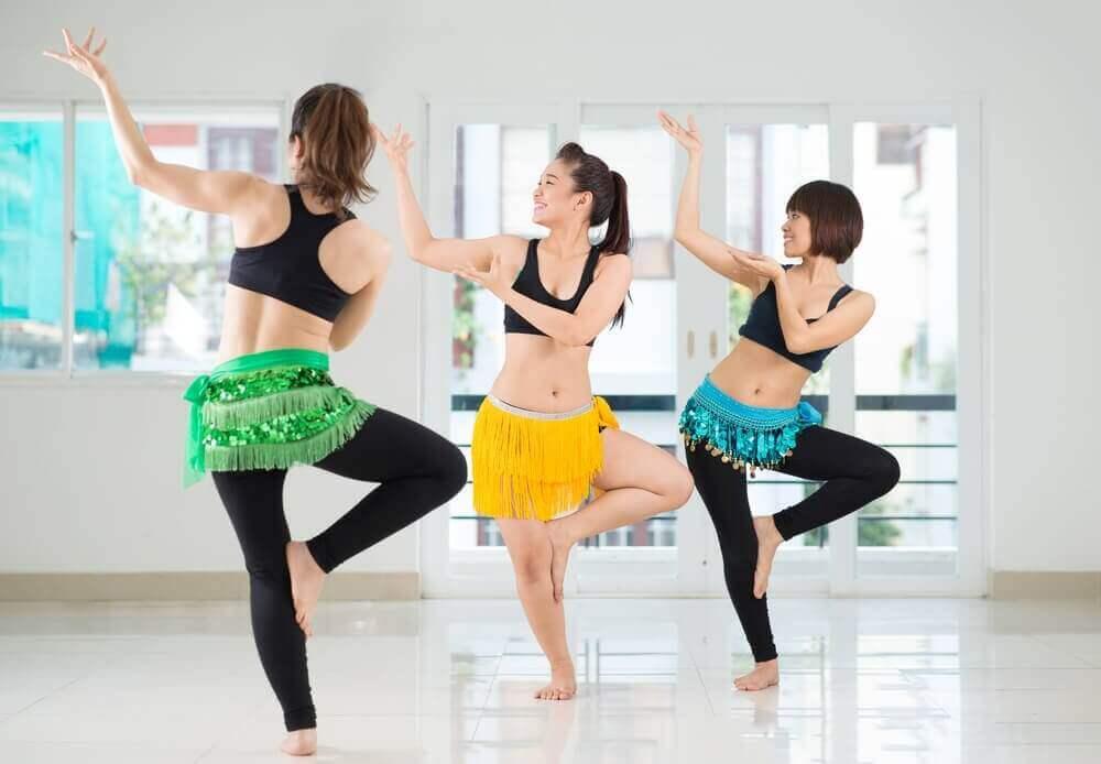 танець живота щоб швидко зменшити талію