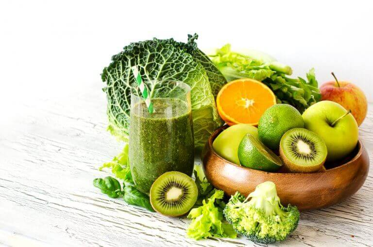 зелені овочі, щоб позбутися відчуття тривоги