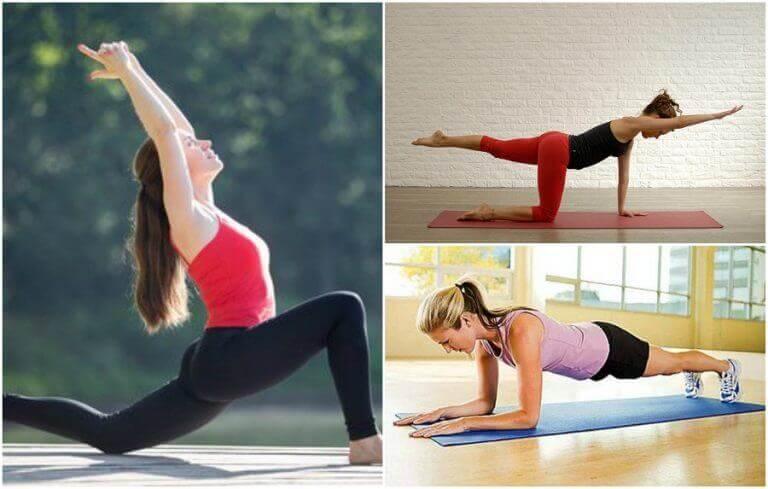 вправи для зміцнення м'язів спини