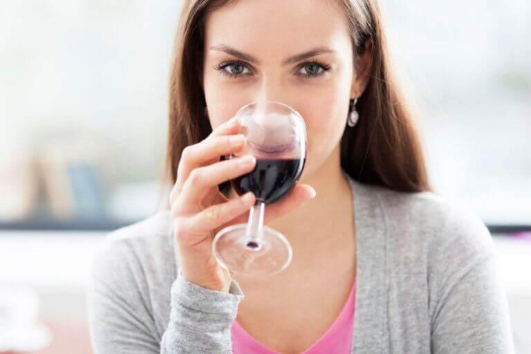 червоне вино дає енергію