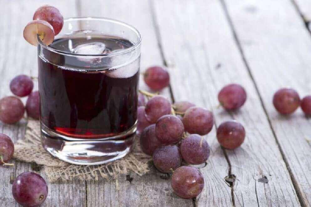 виноградний сік для лікування анемії
