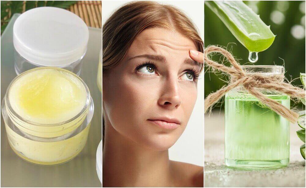 5 природних засобів для пом'якшення зморщок на лобі