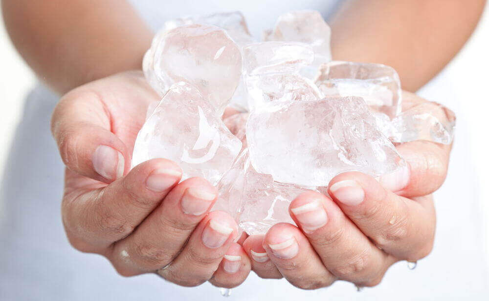 лікування геморою льодом