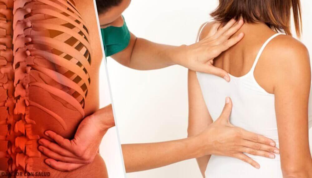 Які зміни відбуваються у хребті через стрес
