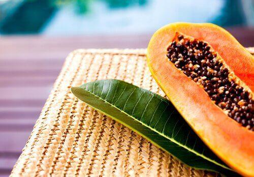 насіння папаї спалює жир