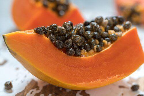 насіння папаї покращує травлення