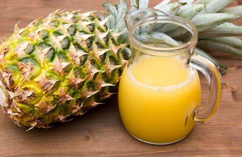користь ананасової води для схуднення