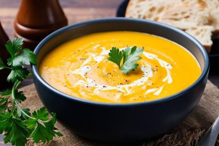 корисний овочевий крем-суп