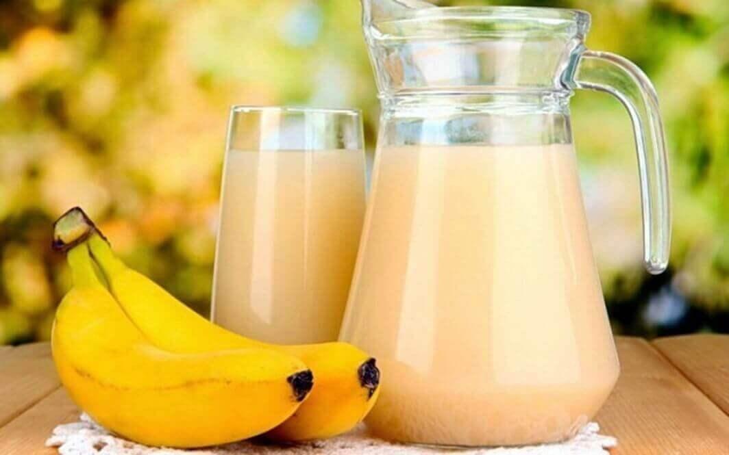 як приготувати картопляно-банановий смузі