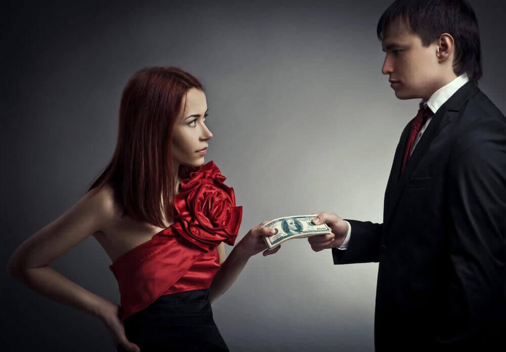 чоловік вам не підходить, якщо його цікавлять гроші