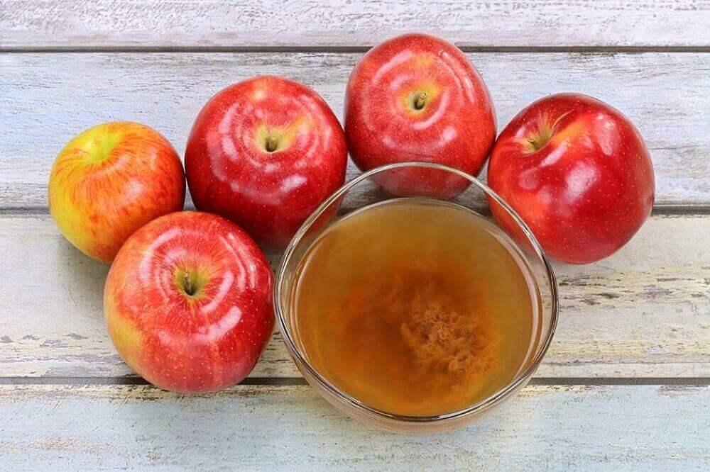 яблучний оцет для усунення грибка