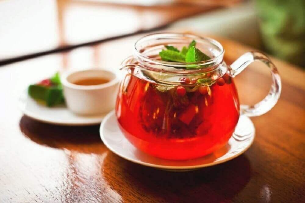 чай з сарсапареллю