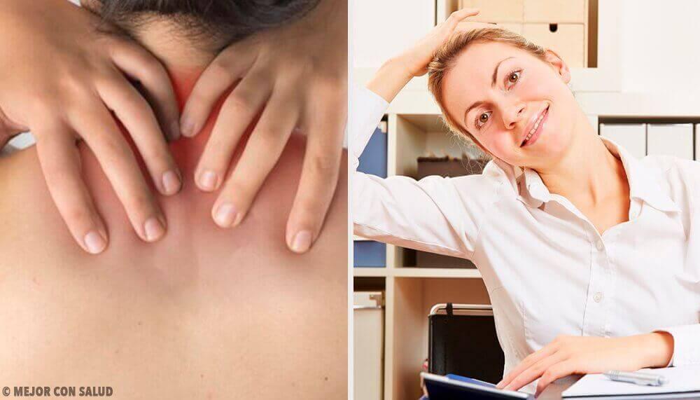Прості вправи для полегшення болю в шиї