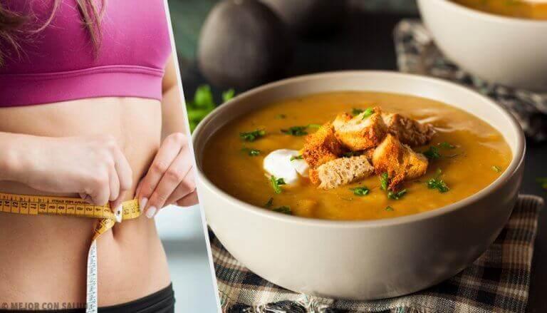 Супова дієта для швидкого спалення жиру