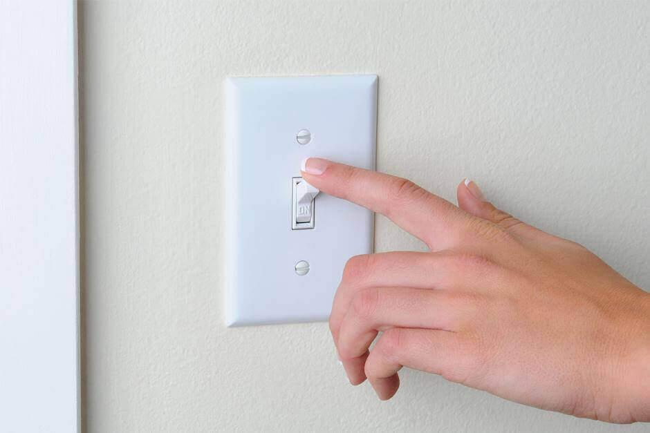 вимикачі освітлення, домашнє приладдя