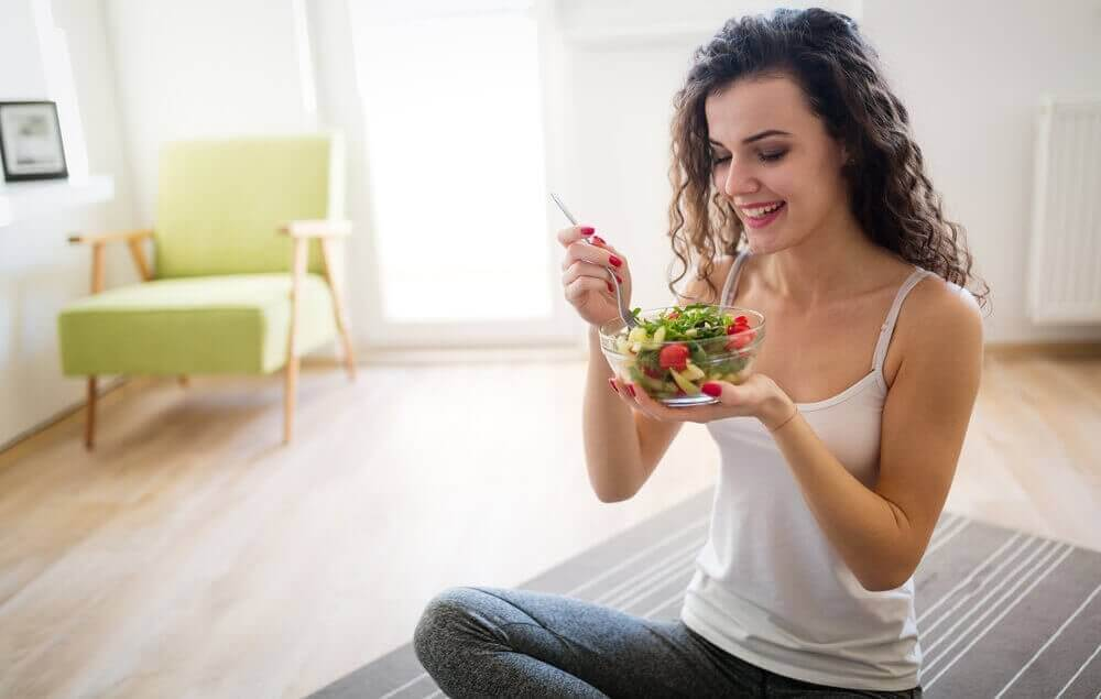 їжте меншими порціями