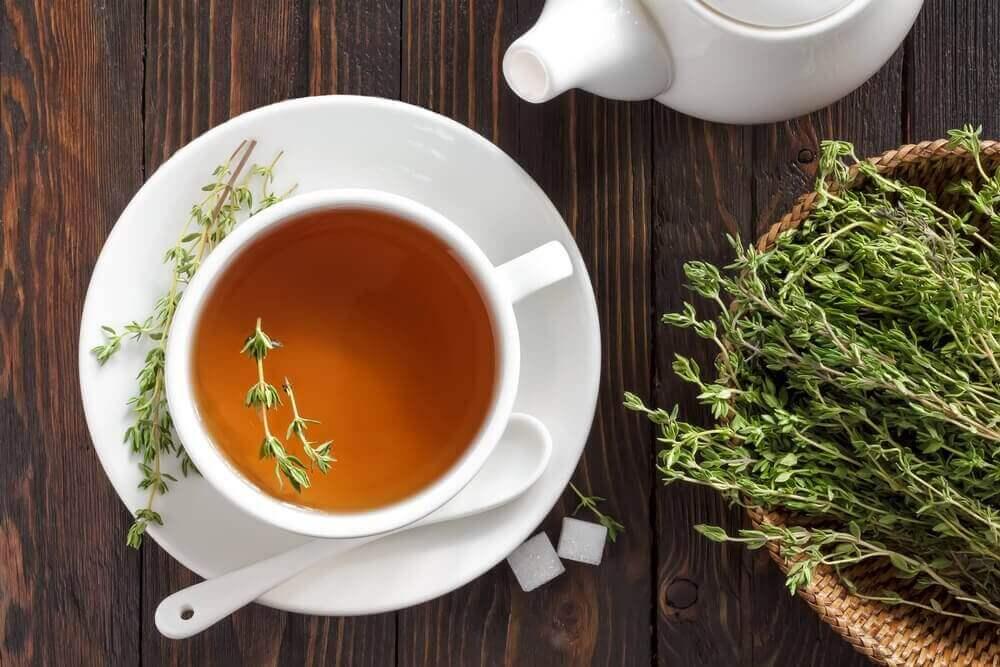 Неймовірні переваги чаю з чебрецю для здоров'я